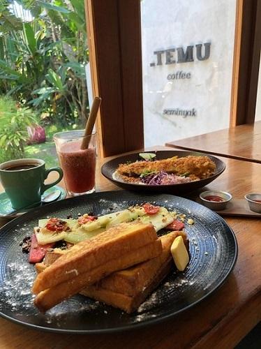 .TEMU Coffee 料理一例