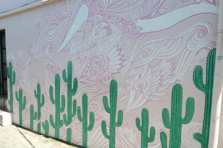 COFFE CARTEL 壁画