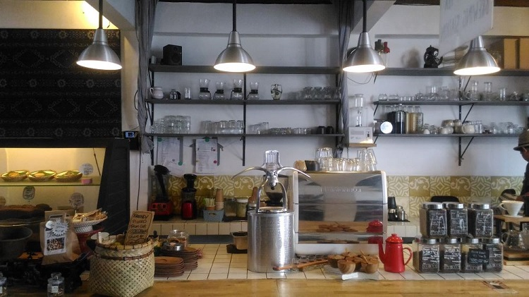The Koop & Roaster Café キッチン
