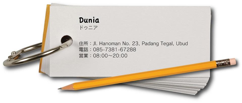 ドゥニア Plate